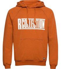classic hoodie hoodie trui oranje r-collection