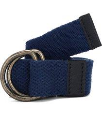 cinturón azul-dorado colore