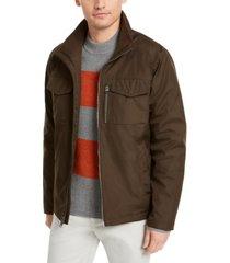 calvin klein men's western pocket open bottom jacket