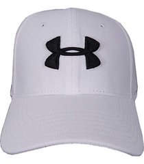 gorra under armour blitzing 3.0 hombre blanco