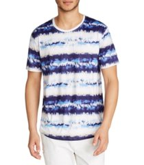 tallia men's performance stretch tie dye print short sleeve crew neck t-shirt