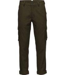 kasori trousers cargo pants grön minimum