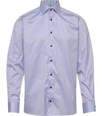 signature twill- contemporary skjorta business blå eton