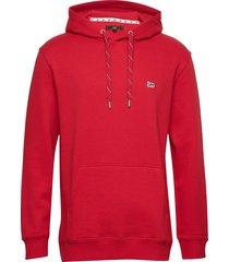 hoodie sws hoodie trui rood lee jeans