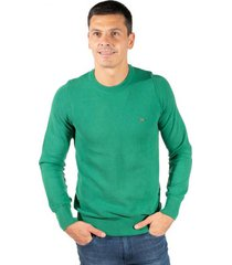 sweater verde pato pampa base pique bastian verde hoja