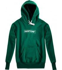 bluza hoodie classic harptone green