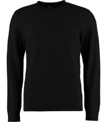 giorgio armani long-sleeved crew-neck sweater