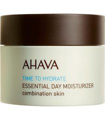 hidratante facial ahava - essential day moisturizer for combination skin 50ml