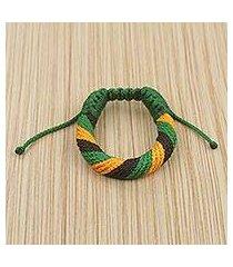 men's wristband bracelet, 'krobo praise' (ghana)