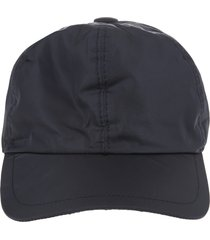 dark blue nylon man baseball cap