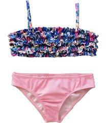 bikini rosa brillantina camelia grande