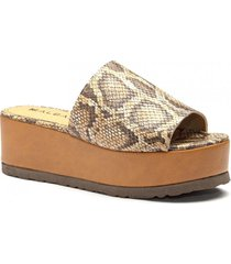 sandalia de cuero suela albany