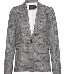 slvarvara blazer ls blazers business blazers grå soaked in luxury