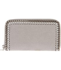 stella mccartney grey falabella shaggy deer wallet