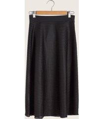 falda negra negro 4