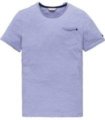 t-shirt cast iron borszak ronde hals paars