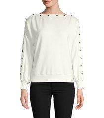 tilly boat-neck sweatshirt