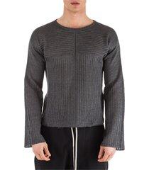 rick owens crew neck neckline jumper sweater pullover biker