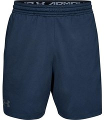 pantaloneta under armour mk-1-negro-azul