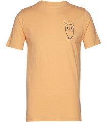 alder owl chest tee - gots/vegan t-shirts short-sleeved gul knowledge cotton apparel
