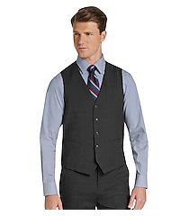 1905 collection tailored fit men's suit separate vest with brrr°® comfort - big & tall by jos. a. bank