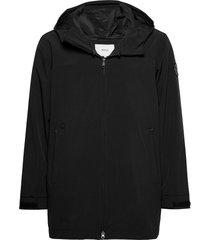haul jacket regenkleding zwart makia