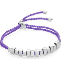women's monica vinader linear ingot friendship bracelet