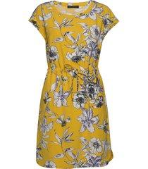 dress short 1/2 sleeve korte jurk geel betty barclay