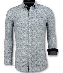 overhemd lange mouw tony backer blouse flower garden