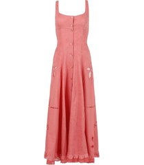 x the webster regenerated pillowcase button up dress