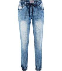 jeans elasticizzati con elastico in vita comfort (blu) - john baner jeanswear