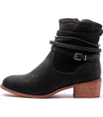 botin victoria black mermaid chancleta