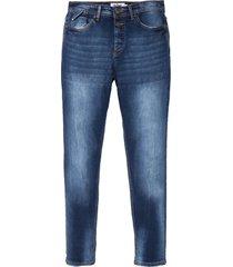 jeans elasticizzati regular fit tapered (blu) - john baner jeanswear