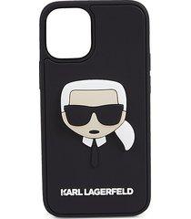 karl lagerfeld 3d rubber iphone 12 mini case