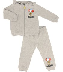 moschino tracksuit with teddy bear logo