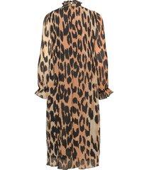 dress knälång klänning multi/mönstrad ganni