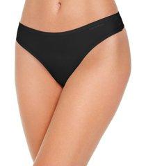 calvin klein women's one size thong underwear qf5604