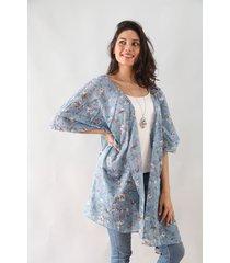 kimono celeste spiga 31