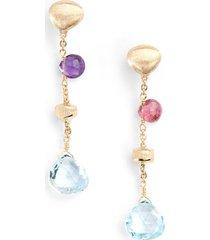 women's marco bicego paradise semiprecious stone drop earrings