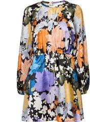 coco, 1079 silk twill korte jurk multi/patroon stine goya