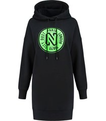 nikkie logo hoodie dress
