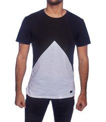 camiseta frank pierce negro diamante / x2104