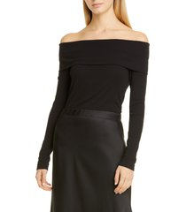 women's rosetta getty ribbed off the shoulder top