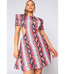 akira plus i know it's not easy being this fabulous mini a-line dress