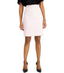 kasper tweed pencil skirt