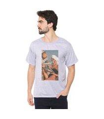 camiseta eco canyon woman 3d cinza
