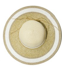 sombrero beige donadonna iara