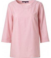 bluzka z tkaniny różanej