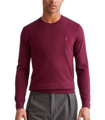 sweater slim washable merino burdeo polo ralph lauren