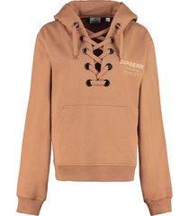 burberry cotton hoodie